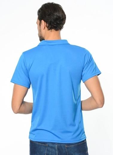 Kappa Polo Slim Fit Unisex T-Shirt Mavi